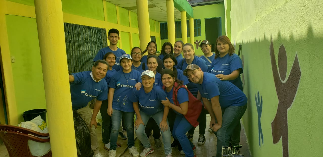Voluntarios de Guatemala.
