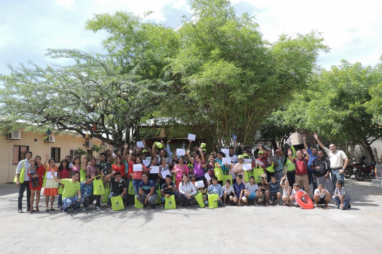 Representantes de comunidades de influencia en la molienda en el Municipio de La Criba y La Caucara.
