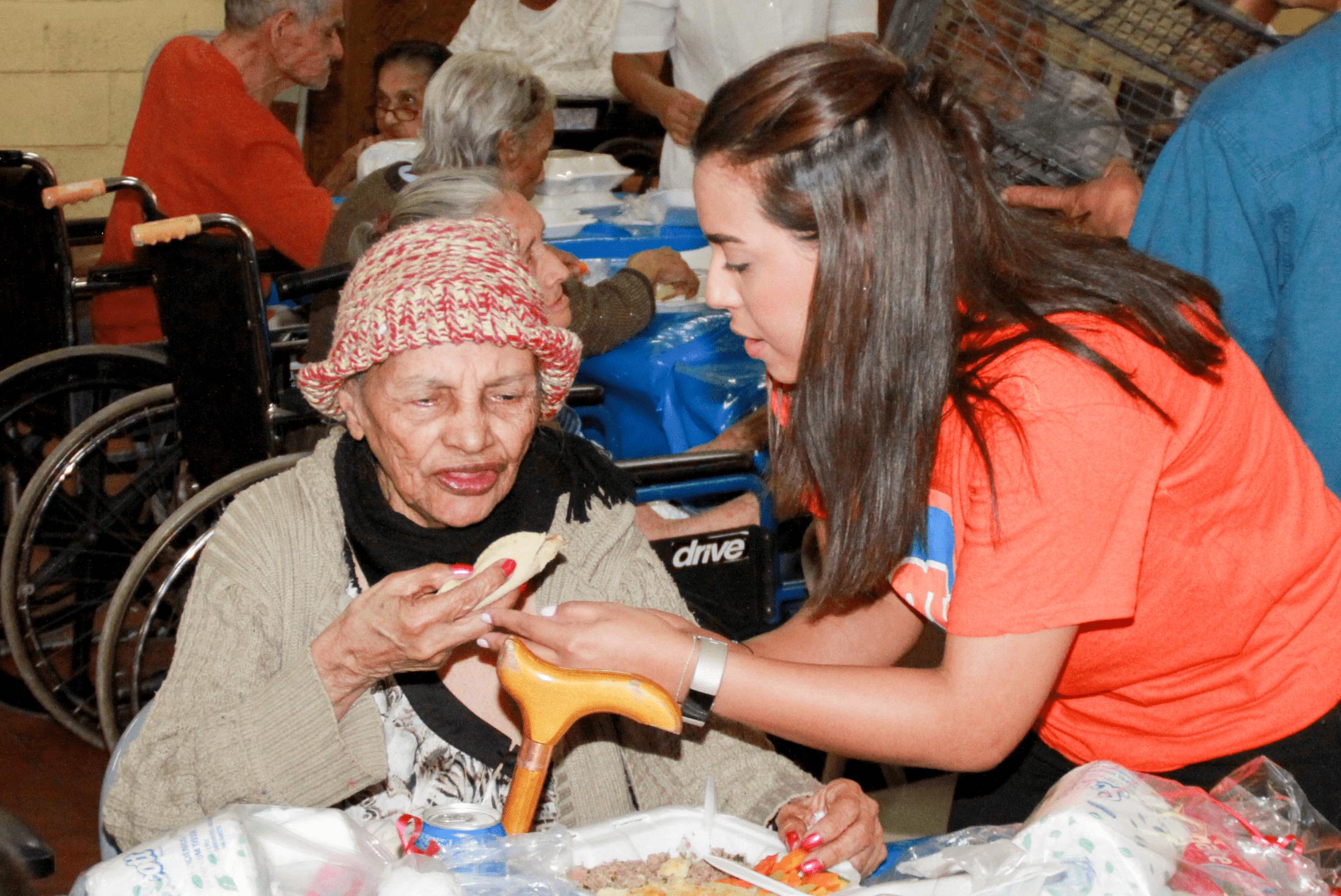 Voluntaria Ilce Izaguirre.